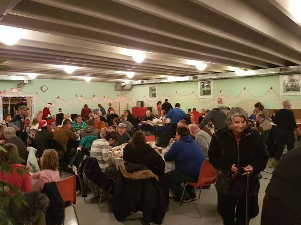 Christmas Eve Neighbourhood Dinner 2016