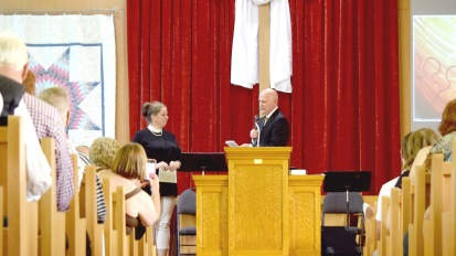 Cathleen's Ordination